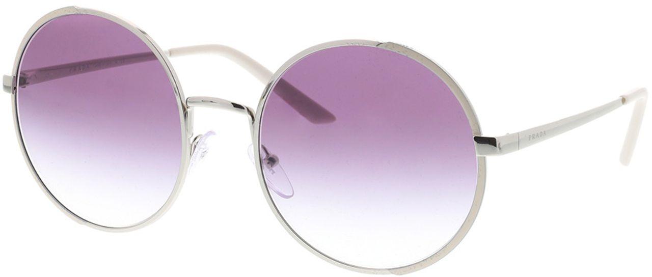 Picture of glasses model Prada PR 59XS 08B4W1 57-22 in angle 330