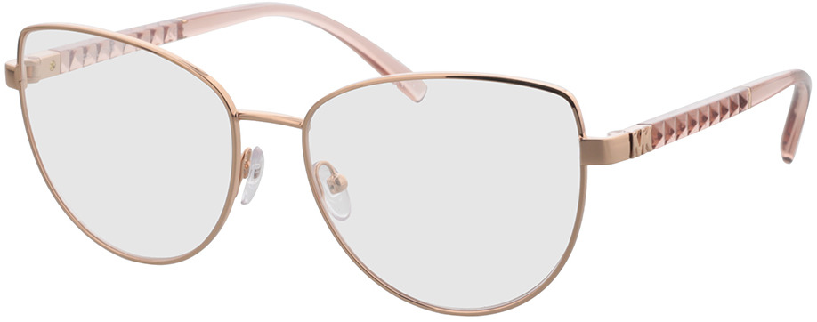 Picture of glasses model Michael Kors MK3046 1108 55 in angle 330