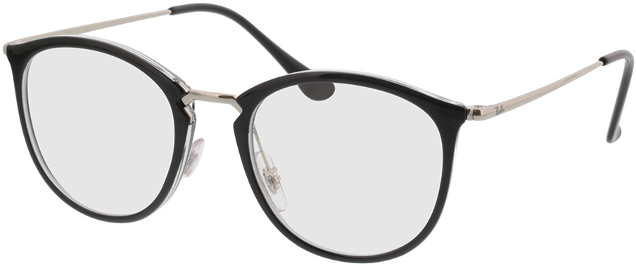 Picture of glasses model Ray-Ban RX7140 5852 51-20 in angle 330