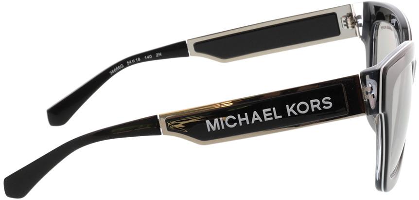 Picture of glasses model Michael Kors Berkshires MK2102 36666G 54-18 in angle 90