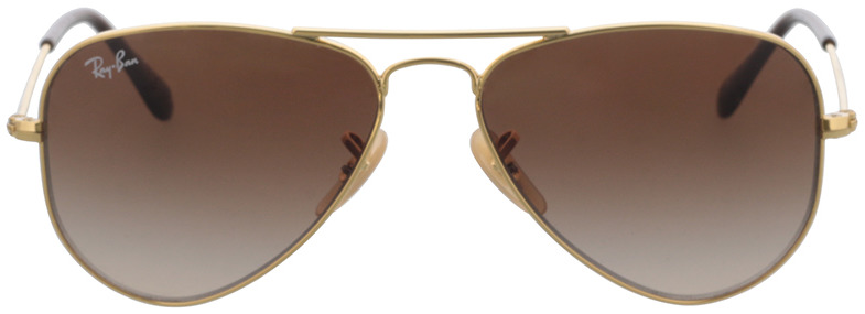 Picture of glasses model Ray-Ban Junior Aviator RJ9506S 223/13 52-14 in angle 0