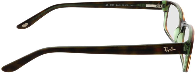 Picture of glasses model Ray-Ban RX5187 2445 52 16 in angle 90