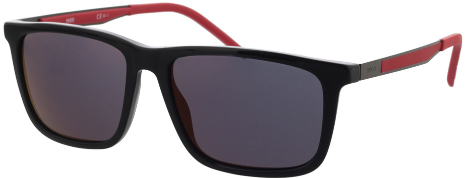 Picture of glasses model Hugo HG 1139/S 807 56-16 in angle 330