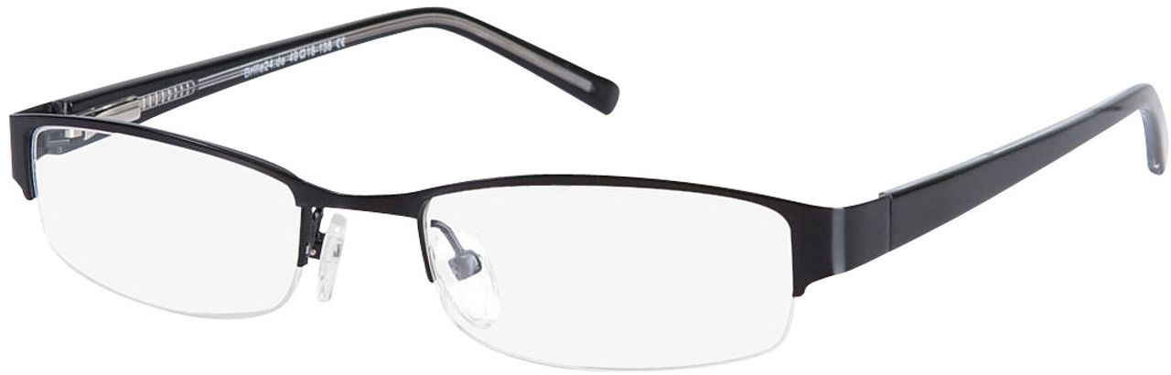 Picture of glasses model Norwich black in angle 330