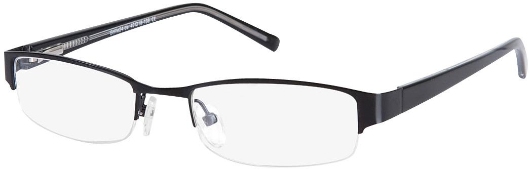 Picture of glasses model Norwich preto in angle 330