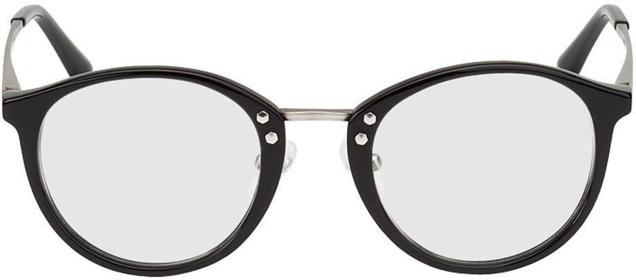 Picture of glasses model Sofia-black-silver in angle 0
