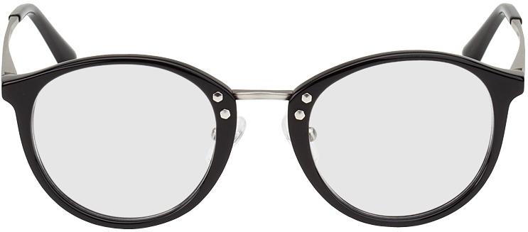 Picture of glasses model Sofia black/silver in angle 0