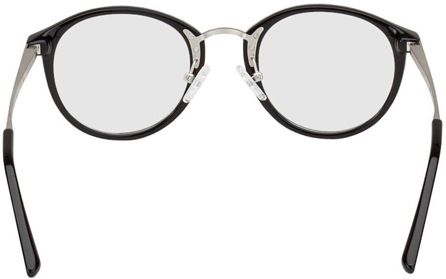 Picture of glasses model Sofia-black-silver in angle 180