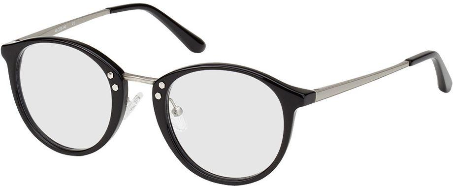 Picture of glasses model Sofia-black-silver in angle 330