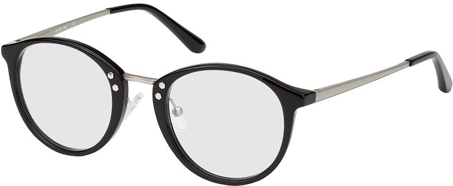Picture of glasses model Sofia black/silver in angle 330