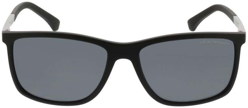 Picture of glasses model Emporio Armani EA4058 506381 58-17 in angle 0