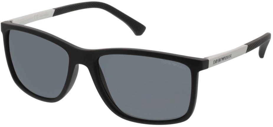 Picture of glasses model Emporio Armani EA4058 506381 58-17 in angle 330
