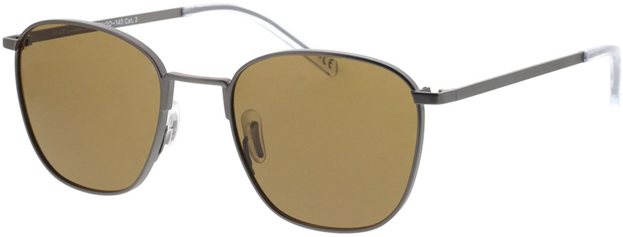 Picture of glasses model TAKE A SHOT Max: Gunmetal 51-20 in angle 330