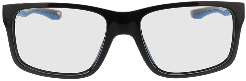 Picture of glasses model Beat-schwarz/dunkelblau in angle 0