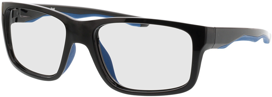 Picture of glasses model Beat-schwarz/dunkelblau in angle 330