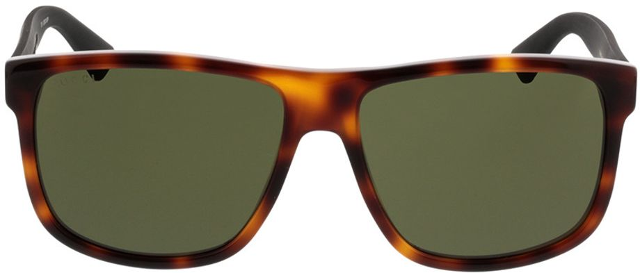 Picture of glasses model Gucci GG0010S-006 58-16 in angle 0