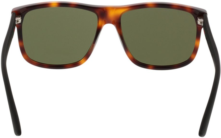 Picture of glasses model Gucci GG0010S-006 58-16 in angle 180