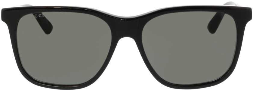 Picture of glasses model Gucci GG0495S-001 57-16 in angle 0