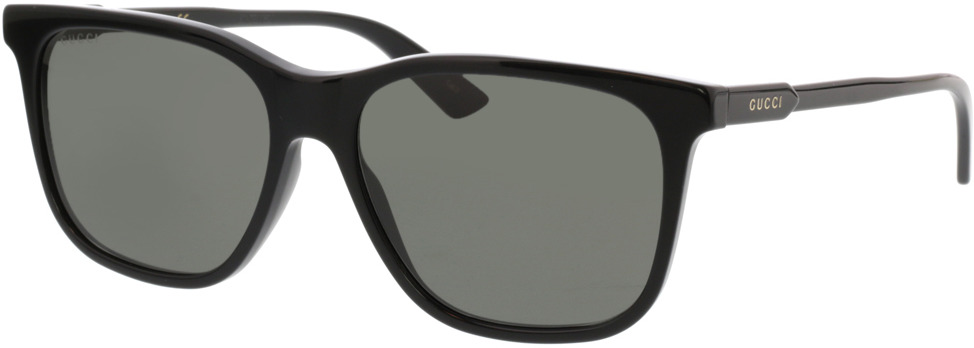 Picture of glasses model Gucci GG0495S-001 57-16 in angle 330