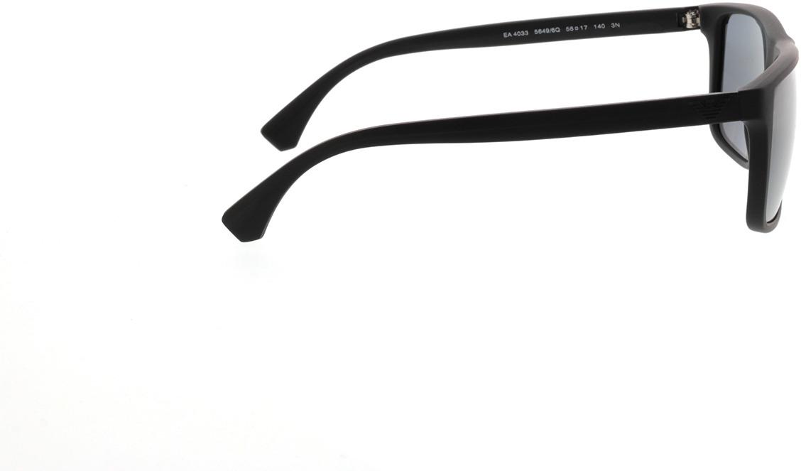 Picture of glasses model Emporio Armani EA4033 56496Q 56-17 in angle 90