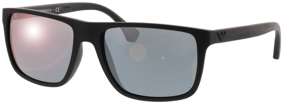 Picture of glasses model Emporio Armani EA4033 56496Q 56-17 in angle 330