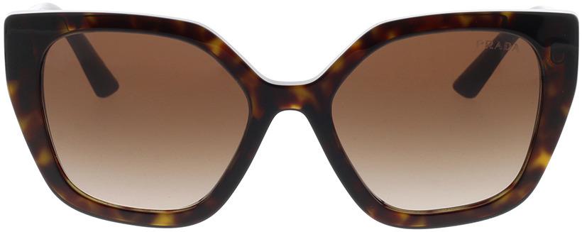 Picture of glasses model Prada PR 24XS 2AU6S1 52-18 in angle 0