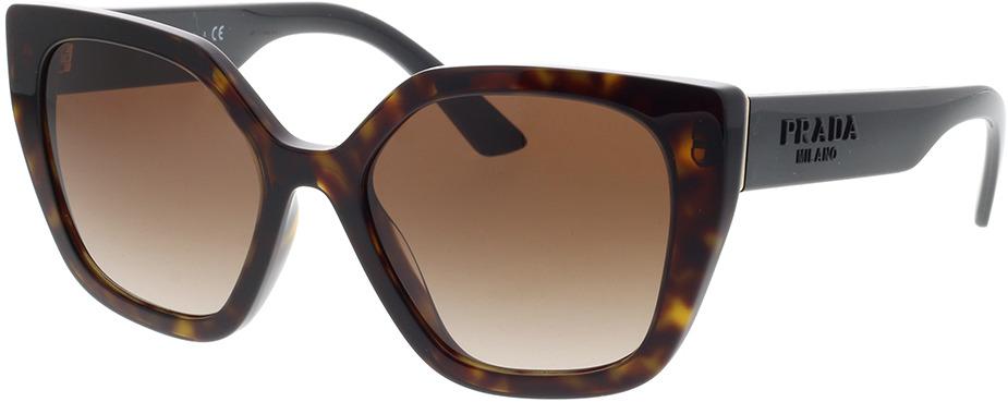 Picture of glasses model Prada PR 24XS 2AU6S1 52-18 in angle 330
