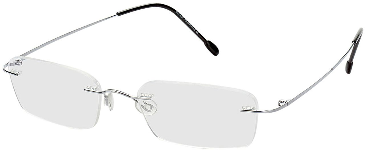 Picture of glasses model Davos-silber in angle 330