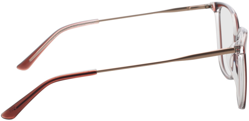 Picture of glasses model Shelby-rot transparent in angle 90
