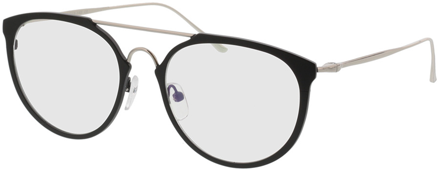 Picture of glasses model Elim black/silver in angle 330