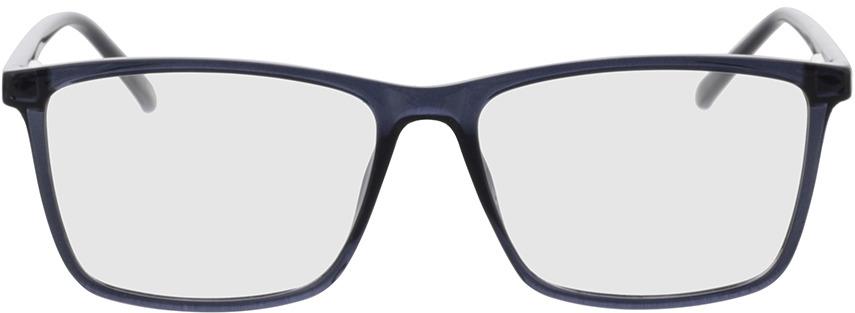 Picture of glasses model Nolba-blau-transparent in angle 0