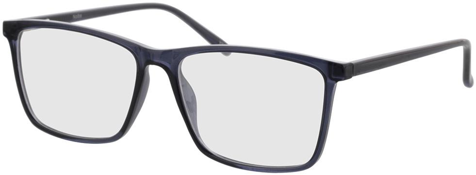 Picture of glasses model Nolba-blau-transparent in angle 330