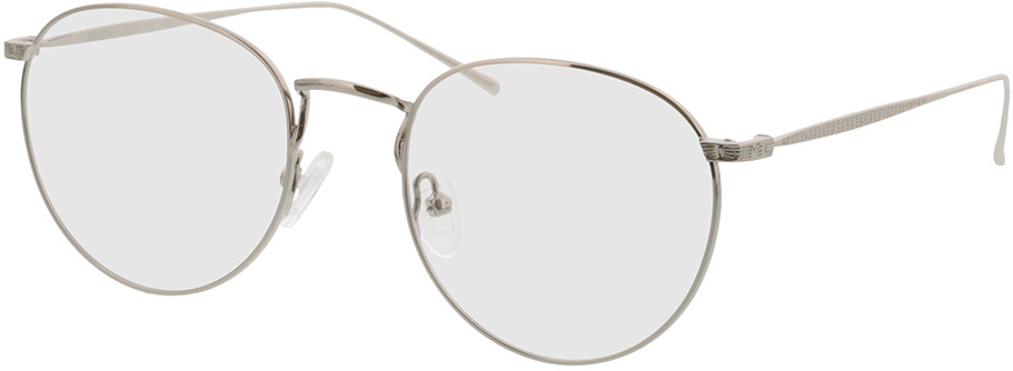 Picture of glasses model Macon silver in angle 330