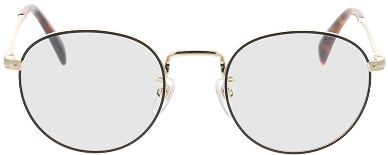 Picture of glasses model David Beckham DB 1015 RHL 50-21 in angle 0