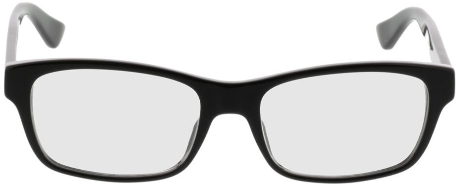 Picture of glasses model Gucci GG0006O-005 55-18 in angle 0