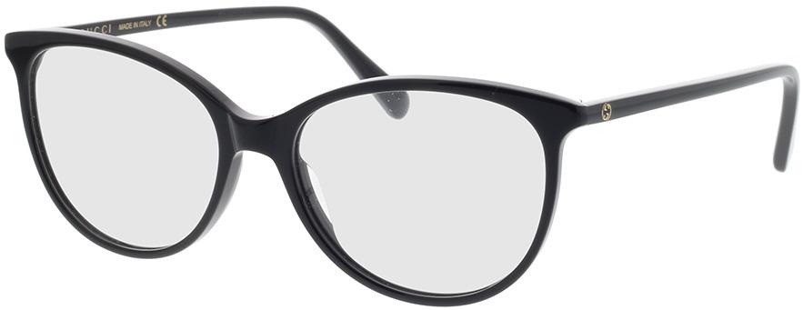 Picture of glasses model Gucci GG0550O-005 53-16 in angle 330