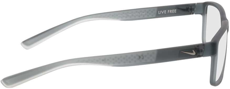 Picture of glasses model Nike 7092 068 57-14 in angle 90