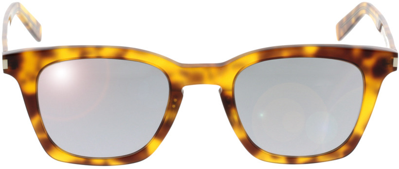 Picture of glasses model Saint Laurent SL 138 SLIM-004 47-22 in angle 0