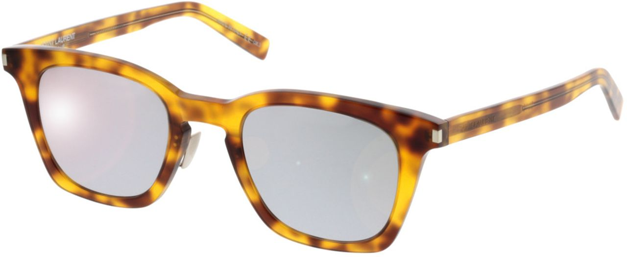 Picture of glasses model Saint Laurent SL 138 SLIM-004 47-22 in angle 330
