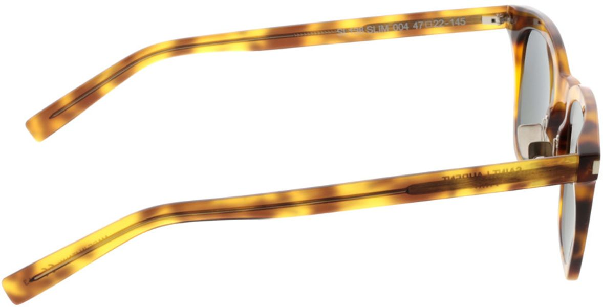 Picture of glasses model Saint Laurent SL 138 SLIM-004 47-22 in angle 90