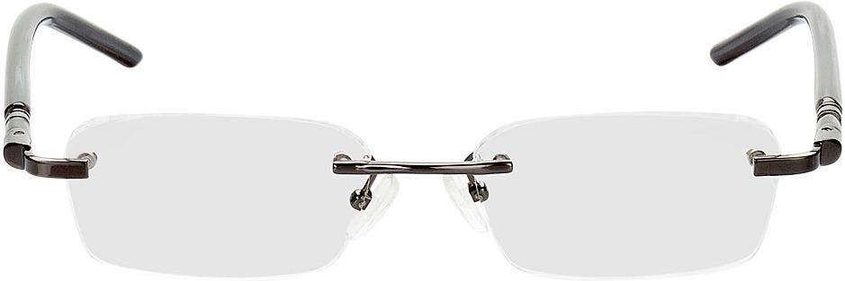 Picture of glasses model Serra-schwarz in angle 0