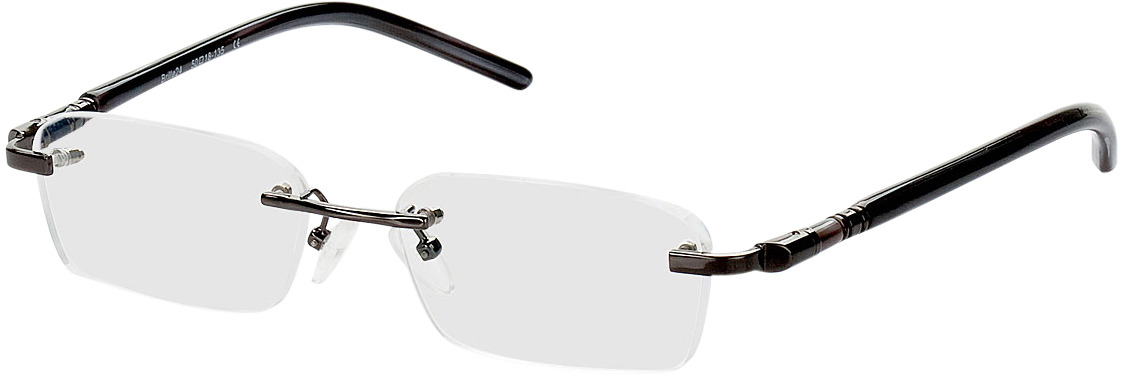 Picture of glasses model Serra-schwarz in angle 330