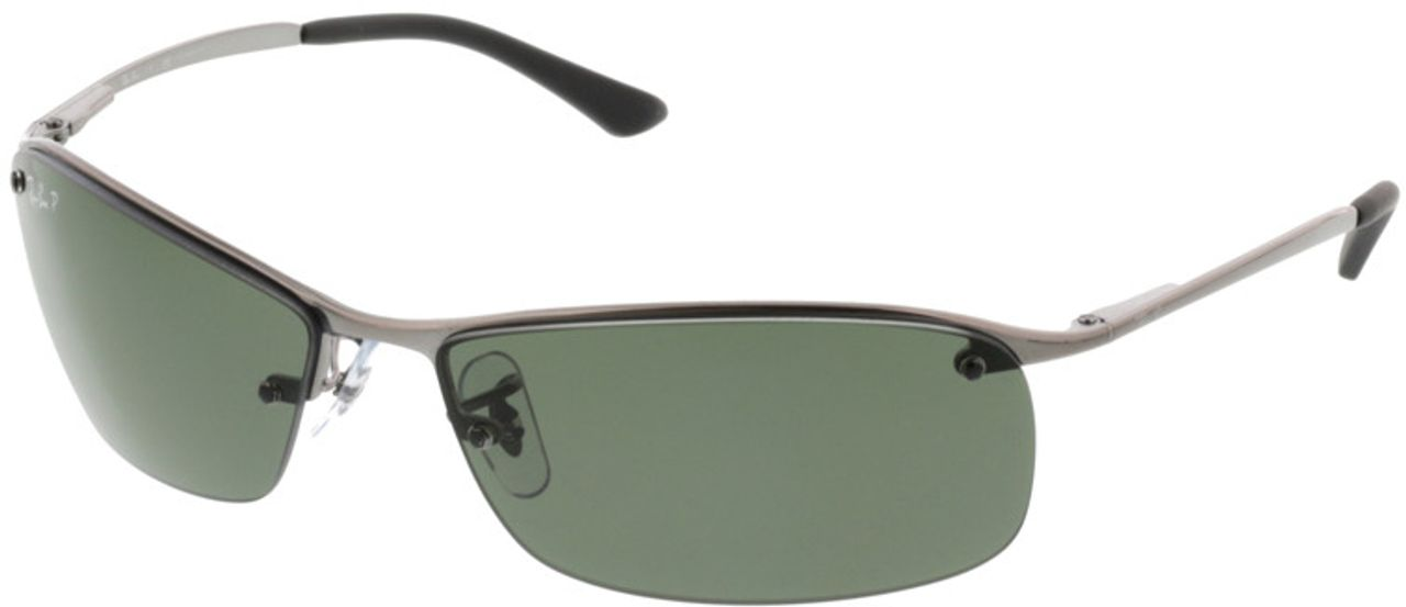 Picture of glasses model Ray-Ban Top Bar RB 3183 004/9A 63-15 in angle 330