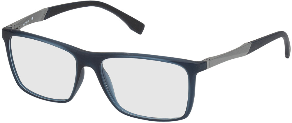 Picture of glasses model Marseille blauw/zilver in angle 330