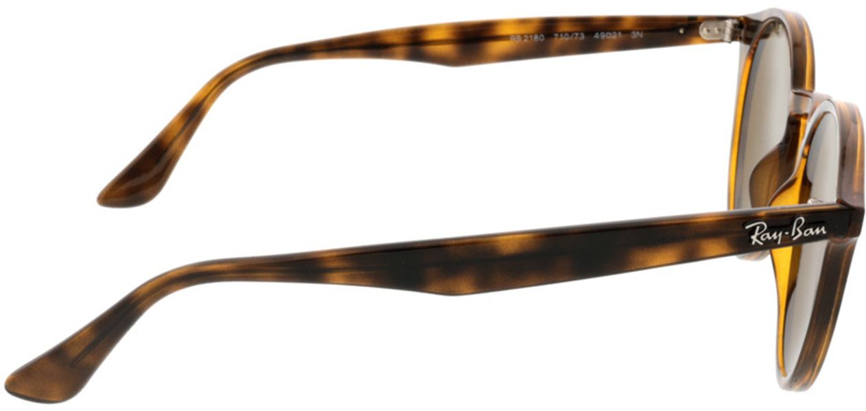Picture of glasses model Ray-Ban RB2180 710/73 49-21 in angle 90