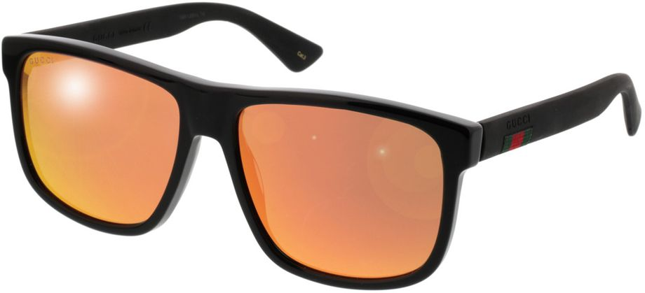 Picture of glasses model Gucci GG0010S-002 58-16 in angle 330