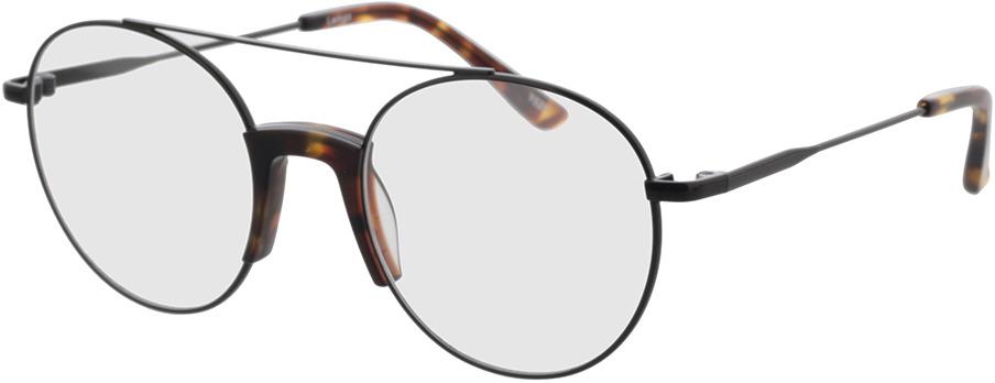 Picture of glasses model Lemgo-schwarz/havana in angle 330