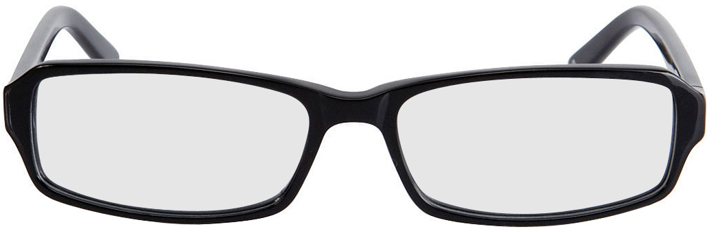 Picture of glasses model Fairfield zwart in angle 0