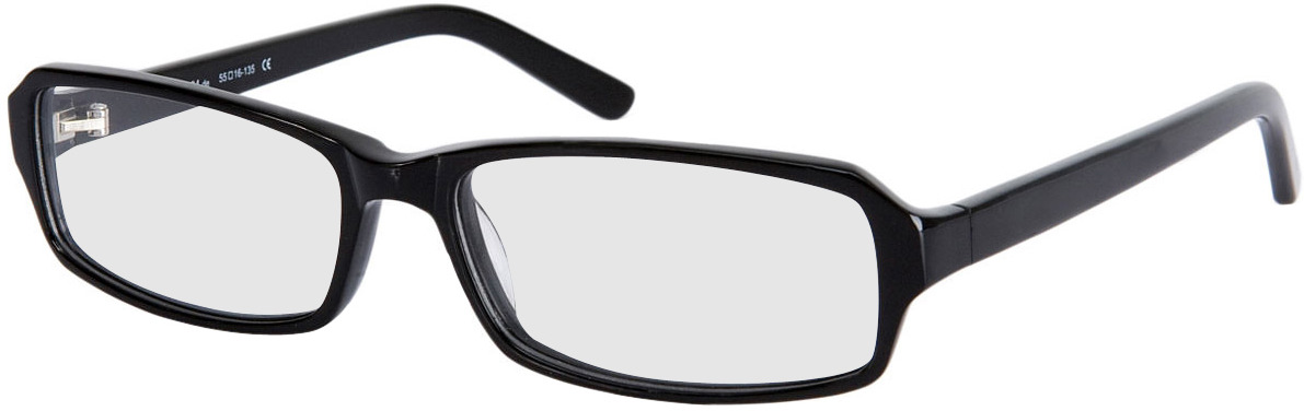 Picture of glasses model Fairfield zwart in angle 330