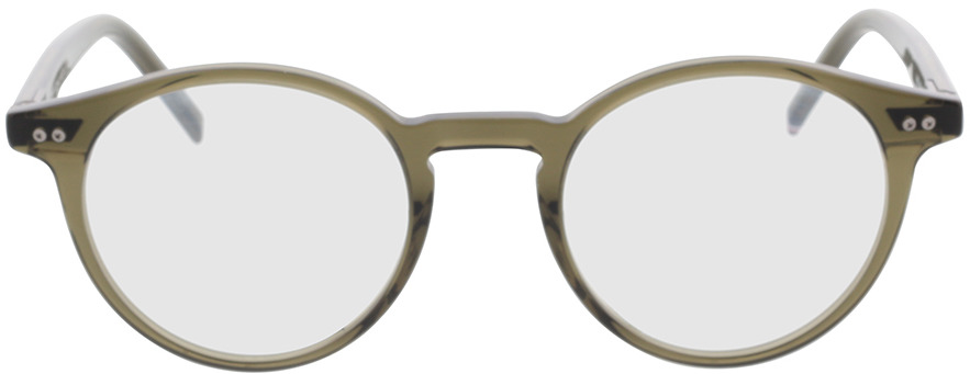 Picture of glasses model Tommy Hilfiger TH 1813 3Y5 49-21 in angle 0